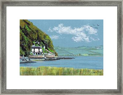 Dylan Thomas Boathouse II Framed Print