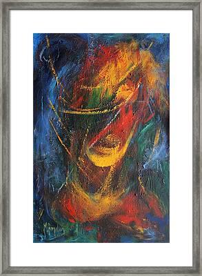 Dynamism  Framed Print by Marina R Burch