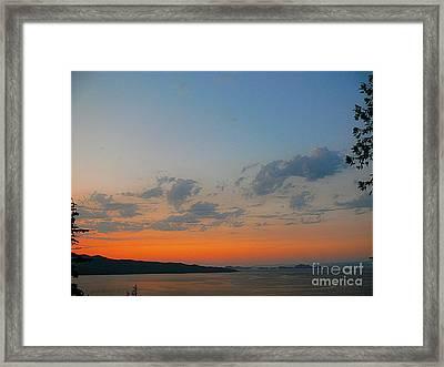 Dysmas II Framed Print