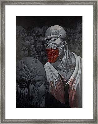 E Pluribus Unum Framed Print by Jake Perez