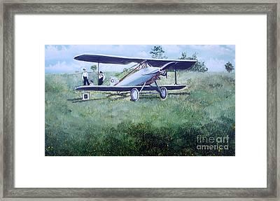 E Ppley Airfield Framed Print by Judy Groves