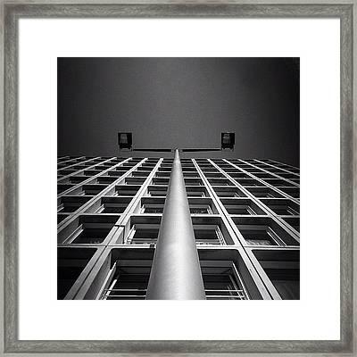 E Wall Framed Print