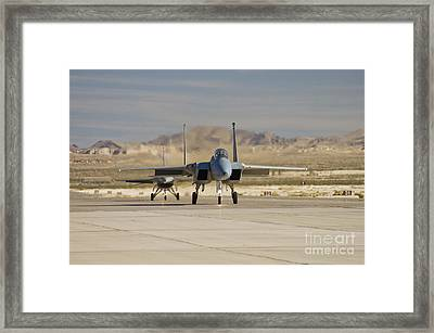 Eagle And Viper Framed Print by Tim Mulina