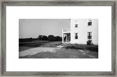 Eagle Frame House Framed Print by Jan W Faul