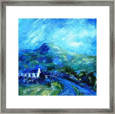 Eagle Hill Lane -ireland  Framed Print