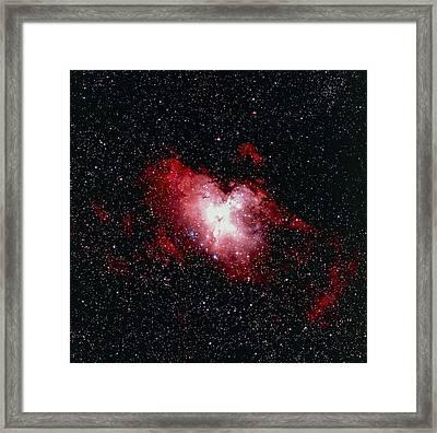 Eagle Nebula (m16) Framed Print by Celestial Image Co.