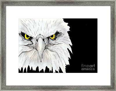 Eagle Framed Print by Shashi Kumar