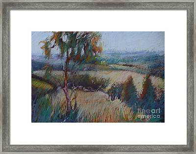 Eagles Lookout Framed Print by Pamela Pretty