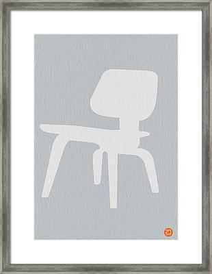 Eames Plywood Chair Framed Print by Naxart Studio