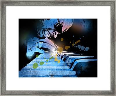 Earl R Johnson Framed Print by Paul Sachtleben