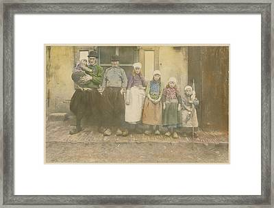Early 20th-century Portrait Of A Dutch Framed Print by George King