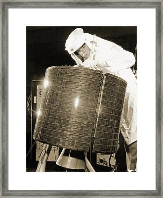 Early Bird Communications Satellite, 1965 Framed Print