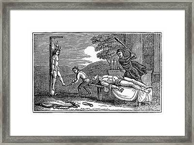 Early Christian Martyrs Framed Print