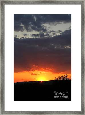 Framed Print featuring the photograph Early Light by Everett Houser