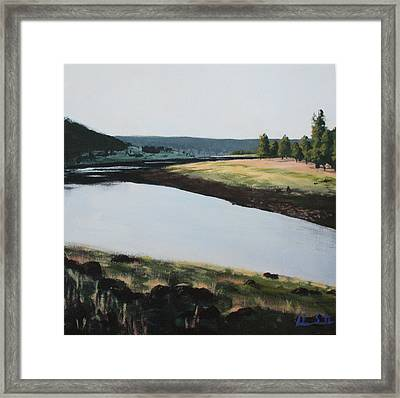 Early Morning Framed Print by Adam Smith