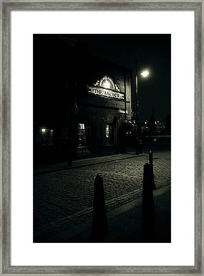 Early Morning Ale Framed Print