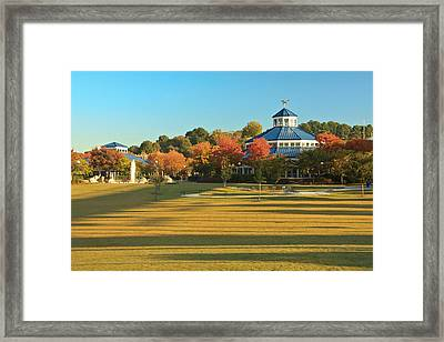 Early Morning Coolidge Park Framed Print by Tom and Pat Cory