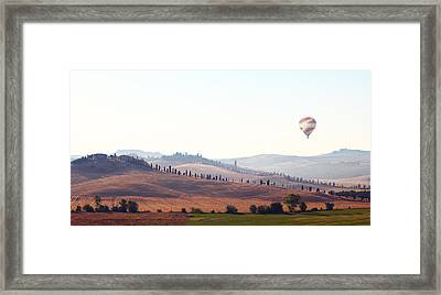 Early Morning In Tuscany Framed Print by Lena Khachina