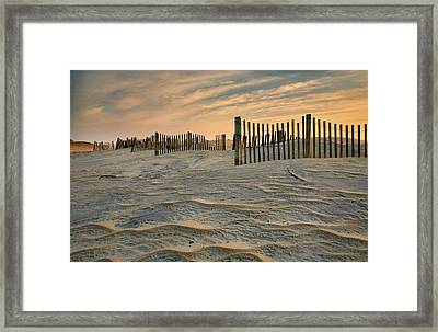 Early Morning On The Dunes II Framed Print by Steven Ainsworth
