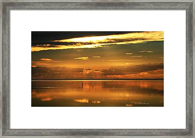 Early Morning Rise Framed Print