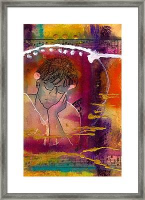 Early Morning Songwriter Framed Print by Angela L Walker