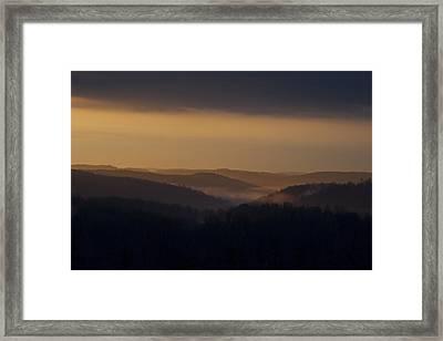 Early Morning Sunrise Framed Print