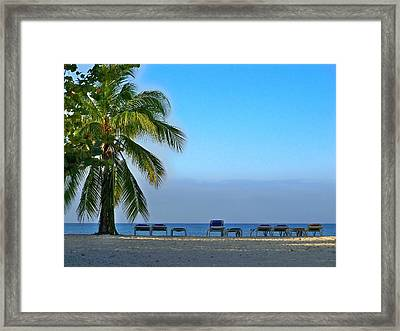 Framed Print featuring the photograph Early Morning Trinidad Cuba by Lynn Bolt