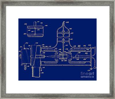 Early Patent For Accelerator, 1937 Framed Print by Science Source