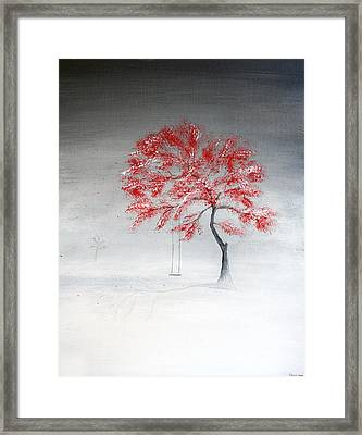 Early Snow Framed Print by Gray  Artus