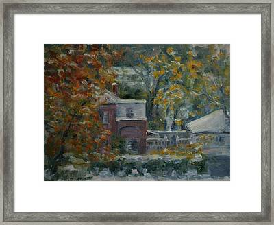Early Snow Hartford Framed Print