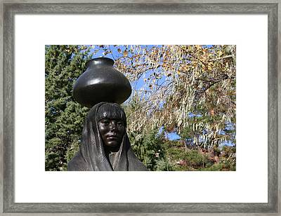 Framed Print featuring the photograph Earth Mother by Laurel Talabere