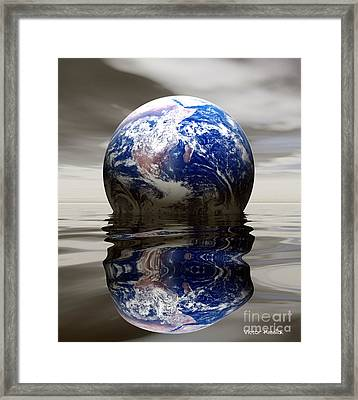 Earth Framed Print by Victor Habbick Visions and Photo Researchers