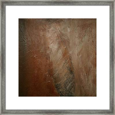 Earthen Framed Print by Dolores  Deal