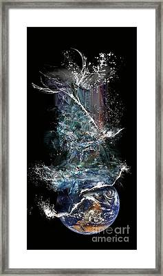 Earth's Ascension Framed Print