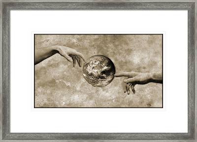 Earth's Creation Framed Print