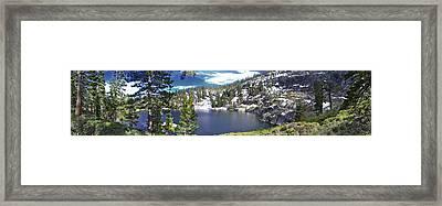 East Angora Framed Print