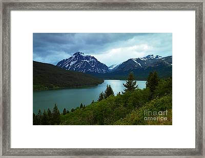 East Glacier Framed Print by Jeff Swan