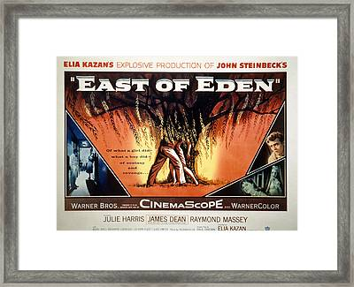 East Of Eden, James Dean, Lois Smith Framed Print by Everett