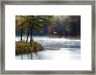 Framed Print featuring the photograph East Twin Pit by Jack R Brock