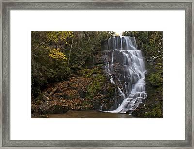 Eastatoe Falls Framed Print