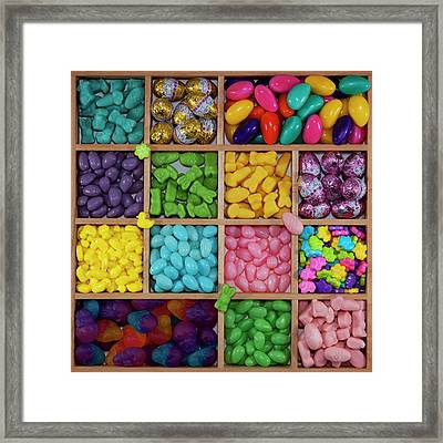Easter Candies Framed Print by Lisa Stokes