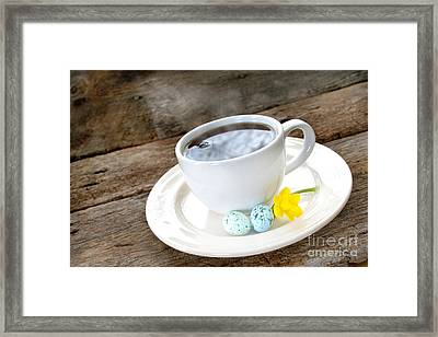 Easter Coffee Framed Print