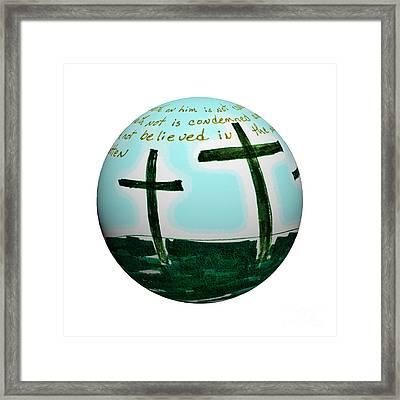 Easter Framed Print by Karen Francis