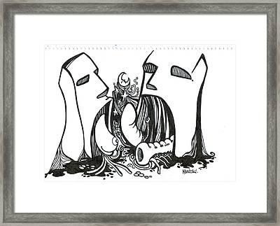 Easter Light Framed Print by Kendrew Black