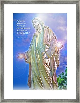 Easter Miracle Framed Print by Marie Hicks