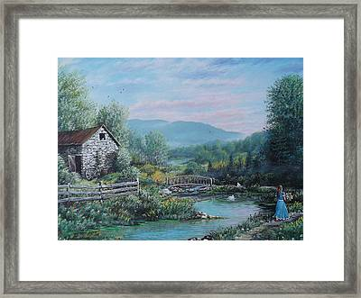 Easter Sunday Framed Print
