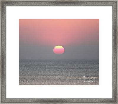 Easter Sunrise Framed Print by Marilyn West