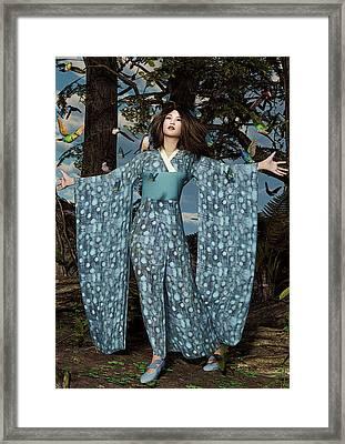 Eastern Enchantment Framed Print