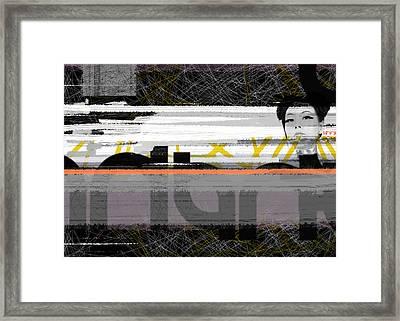 Eastern Opinion Framed Print by Naxart Studio