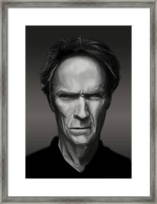 Eastwood Framed Print by Kurt Ramschissel